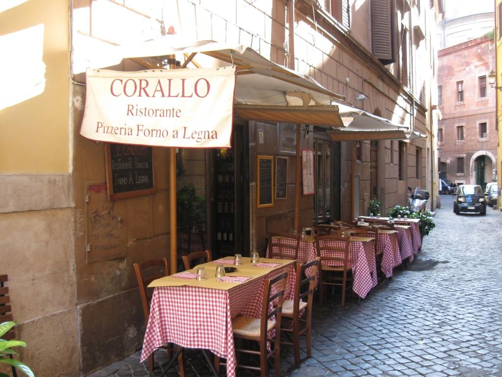 """Ristorante Roma Centro  """" Il Corallo """""""