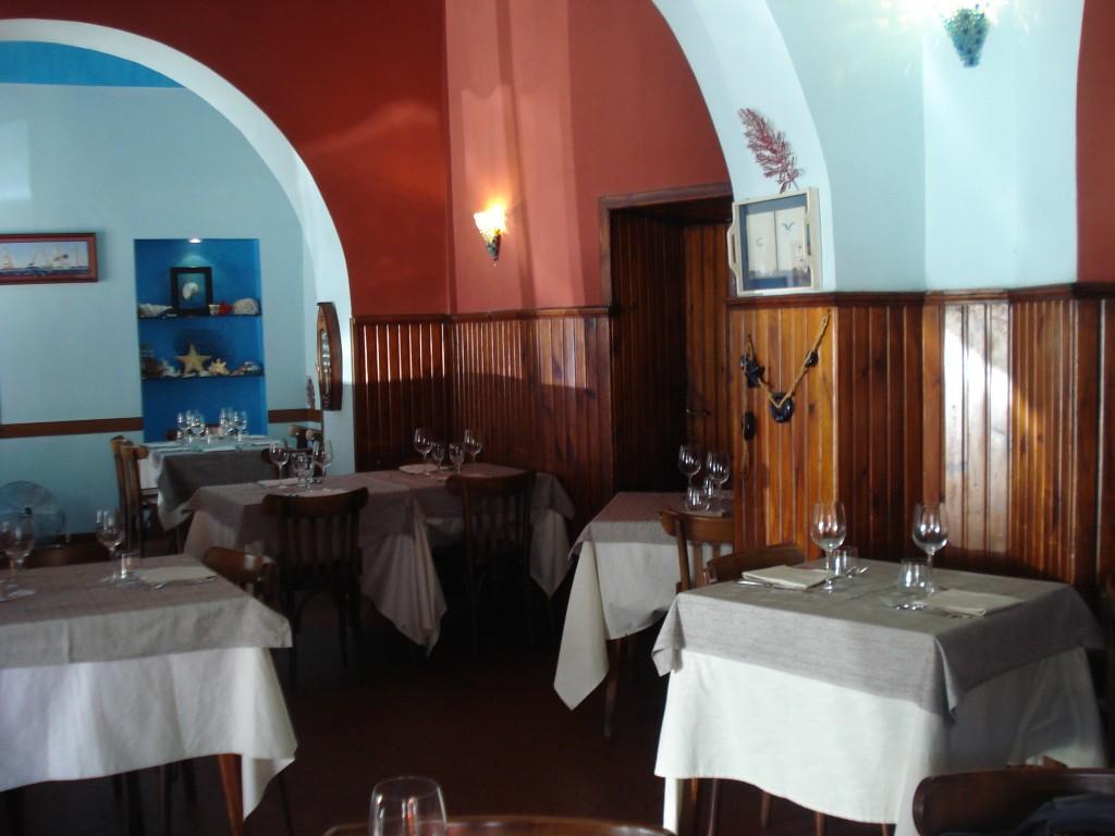 """Ristorante di Pesce Roma Centro """" Il bar sotto il mare """""""
