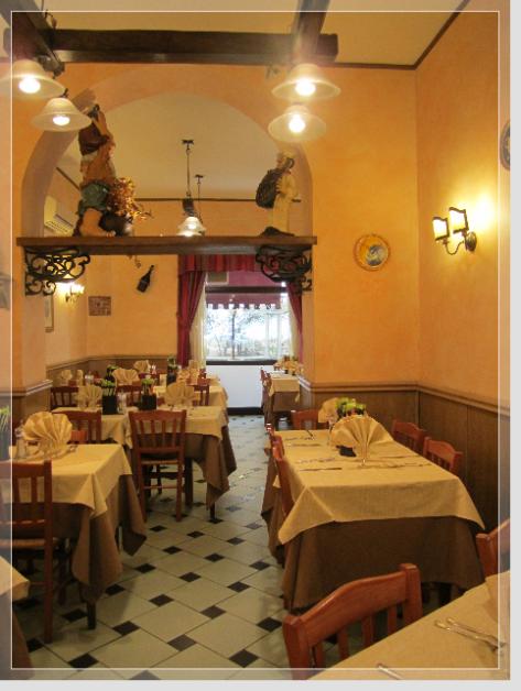 """Ristorante Pizzeria all' Esquilino Roma """" La Famiglia """""""