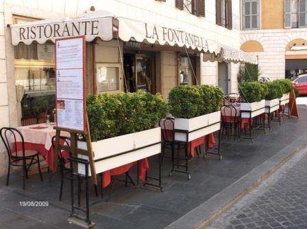 """Ristorante al Centro di Roma """" Fontanella Borghese """""""