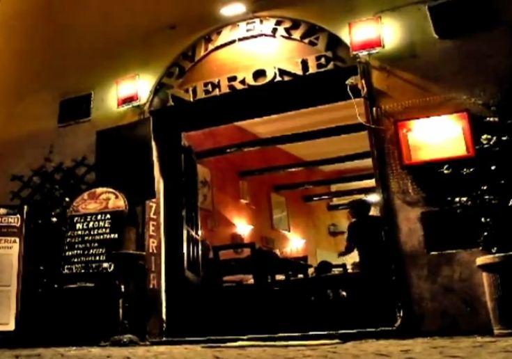 """Pizzeria Forno a Legna a Trastevere Roma """" Nerone """""""
