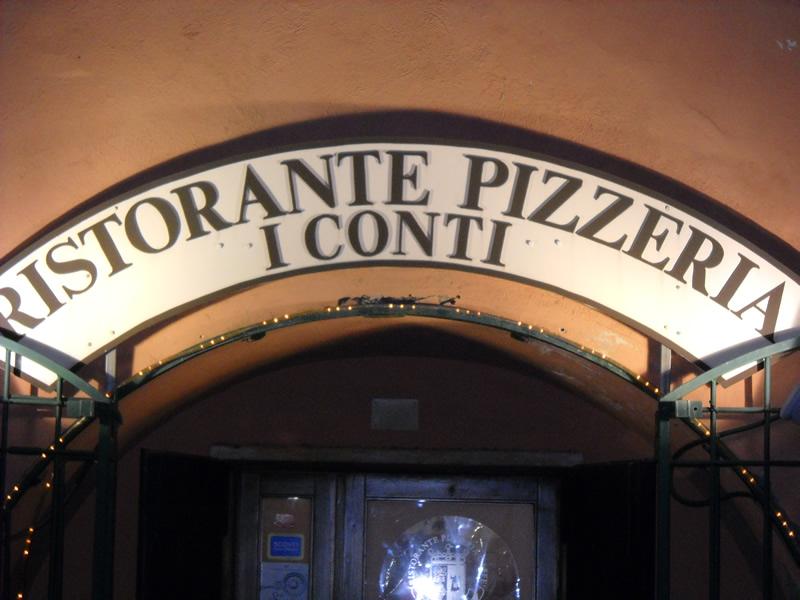 """Ristorante Tipico Pesce Pizza Carne a Torrimpietra Roma """" I Conti """""""