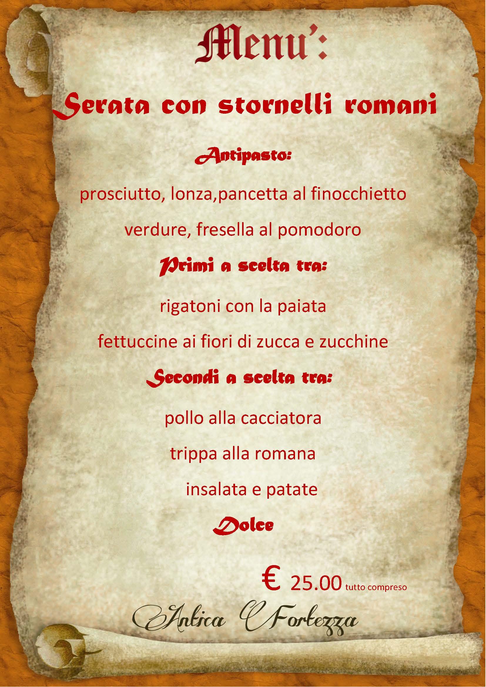 Ristorante degustazione cucina romana albano romaatavola for Cucina romana antica