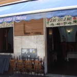 """Ristorante di Pesce San Pietro Roma Centro """" Il bar sotto il mare """""""