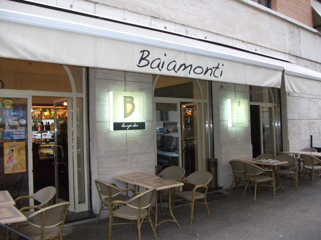 """Aperitivi per Celiaci Prati Roma """" Baiamonti Lounge Bar """""""