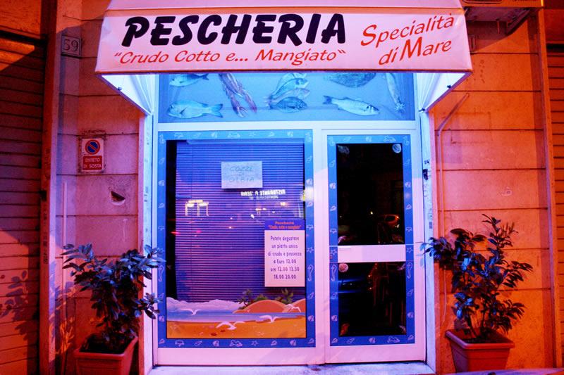 Specialità di Pesce Tuscolana Roma